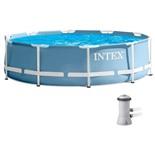 Бассейн каркасный Intex + фильтр-насос 26702NP 305х76см
