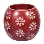 Набор 2 в 1 для бани Банные Штучки Цветы (камень испаритель подсвечник) 40224