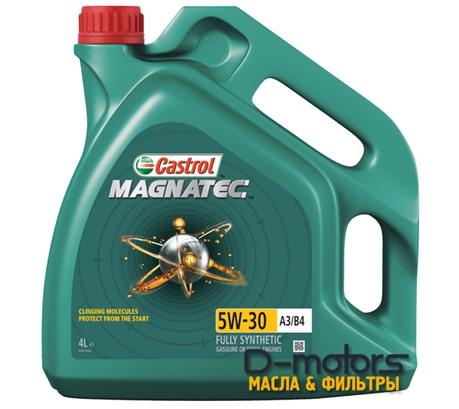 Моторное мало Castrol Magnatec 5W-30 A3/B4 (4л.)