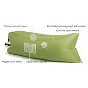 Надувной лежак Ламзак с карманами LAMZAC Россия хаки