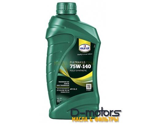 Трансмиссонное масло для самоблокирующихся систем EUROL Fultrax 75W-140 LS GL-5 (1л.)