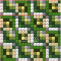ПЛЕД-КВАДРАТ Зелёный, размер ИДЕАЛ