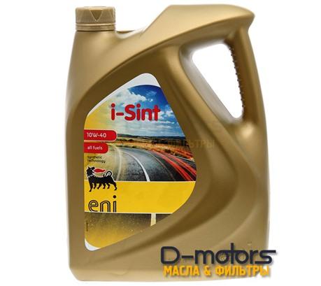 Моторное масло Eni I-Sint 10W-40 (5л.)