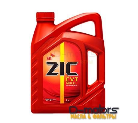 Трансмиссионная жидкость для вариатора ZIC CVT MULTI (4л.)