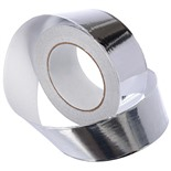 Алюминевая клейкая лента для термоизоляции Банные Штучки 48мм х 50м 3566