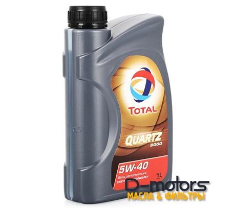 Моторное масло Total Quartz 9000 5W-40 (1л.)