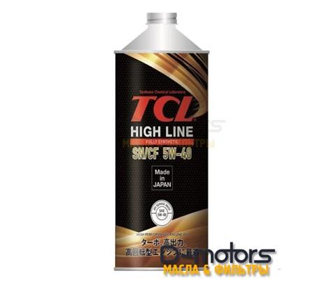 Моторное масло TCL High Line 5W-40 SN/CF (1л.)