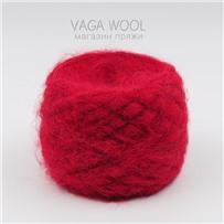 Пряжа Fluffy Красный, 265м/50г, Lama Lima