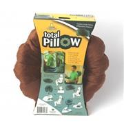 Подушка-трансформер для путешествий Total Pillow (Тотал Пиллоу) Коричневая