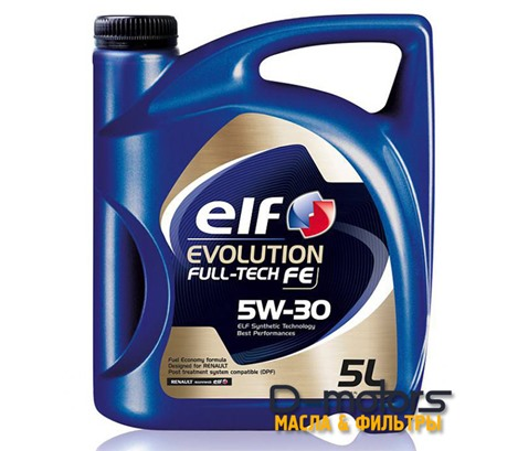 Моторное масло ELF Evolution Fulltech FE 5W-30 (5л.)