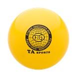 Мяч для художественной гимнастики RGB-101, 19 см, желтый