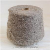 Пряжа Lilu из сури альпака, Бежевый, 130м/50г, Lama Lima