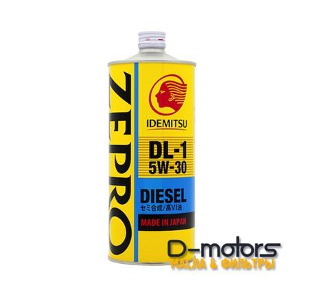 Моторное масло Idemitsu Zepro Diesel DL-1 5W-30 (1л.)