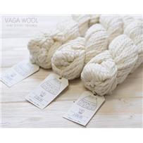Пряжа Mamacha Белая роза 8000, 50м/100г, бэби альпака, шерсть мериноса, Amano, White rose
