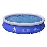 Бассейн надувной Jilong Prompt set + фильтр-насос17540EU 420x84 см