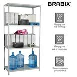 Стеллаж металлический Brabix MS KD-185/40/70-4 (S240BR124402)