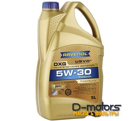 Моторное масло Ravenol DXG 5W-30 (5л.)